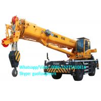 Wholesale Full Hydraulic Power Steering XCMG RT40E 40 Ton All Wheel Drive Small Rough Terrain Tractor Crane With 20.5R25 Tire from china suppliers