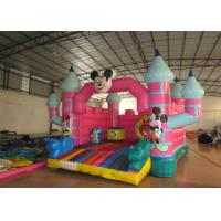 China Mickey Mouse Kids Inflatable Bounce House 4.5 X 5 X 3.5m For 3 - 15 years Old Children for sale