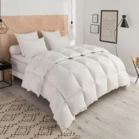 Buy cheap 85% Goose Feather And 15% Goose Down Hotel Collection King Duvet Embroidered from wholesalers
