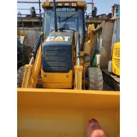 China Yellow Used Caterpillar Backhoe Loader 420F2 High Performance 1 Year Warranty on sale
