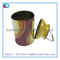 Wholesale high quality beautiful round tin for milk from china suppliers