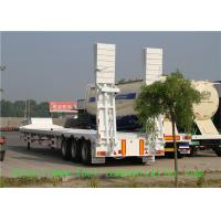 Buy cheap 3 Axle Low Bed Semi Trailer For Transport Heavy Cargo And Excavator from wholesalers