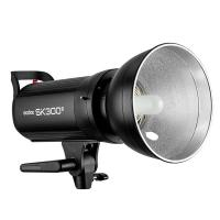 China Godox SK300II 110V 220V Professional Studio Strobe Power 5600K 300WS GN58 Mini Studio Flash Light Lamp on sale