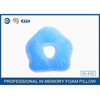 Wholesale Premium Deluxe Memory Foam Office Sleep Pillow , Nap Pillow For Pressure Relief from china suppliers