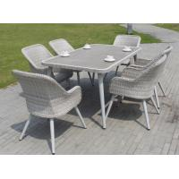 Wholesale Import latest waterproof cast aluminum bamboo hilton leisure outdoor plastic rattan garden furniture from china suppliers