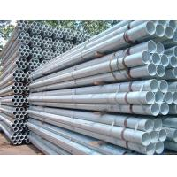 Wholesale prices of erw galvanized scaffold pipe specifications from china suppliers