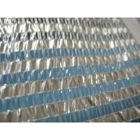 Wholesale transparent plastic stripes shade cloth for greenhouse with aluminum stripes from china suppliers