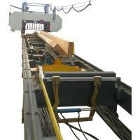 China Hydraulic Horizontal Band Saw Log Cutting Sawmill, Automatic large bandsaw mill for sale