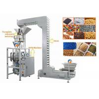 Quality Auger Vertical Form Fill Seal Machine With Volumetric Cup Pneumatic Operate for sale