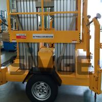 Buy cheap 8m Platform Height Electric Man Lift For 2 Persons , Work Platform Lift from wholesalers
