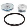 Go Kart Clutch Set Torque Converter Kit 5/8 Driven With Belt for sale