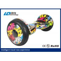 China CE ROHS Standing Smart Balance Hoverboard Automatic With Bluetooth Speaker on sale