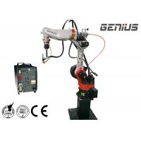 Complete Mig Welding Robot With Safety Device Gas Breaking Protection for sale