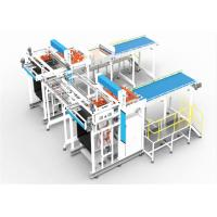 Wholesale Horizontal Transfer Type Can Depalletizer Machine Weight 10ton In Blue Color from china suppliers