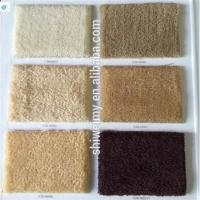 China Solid twist pile 100%piece dyed Nylon carpet for sale