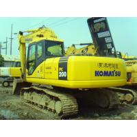 Quality USED KOMATSU PC200-7 CRAWLER EXCAVATOR  ORIGINAL JAPAN KOMATSU PC200 SALE for sale