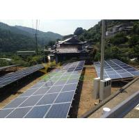 China Aluminum 6005 T5 Ground Mount Solar Racking AS/NZS 1170 on sale