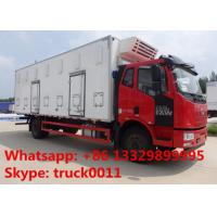 China FAW brand 40,000 day old chick transported truck for sale, factory sale best price FAW 4*2 LHD baby chick van truck for sale