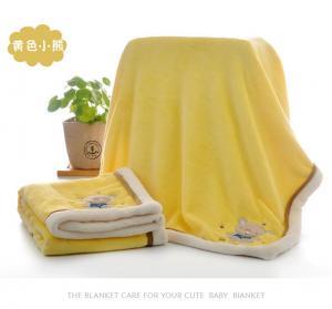China Super Soft And Warm Animal Print Baby Blanket , Kids Flannel Fleece Blanket on sale