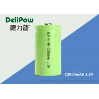 Wholesale C3000mAh NIMH Rechargeable Battery For Power Tools / Emergency Light from china suppliers