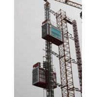 Wholesale Double Cabin Construction Cage hoists Material lifting Equipment for civil architecture from china suppliers