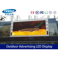 Wholesale Die Casting 10mm Outdoor Advertising LED Display 60°1000W / m² , Big LED Screen from china suppliers
