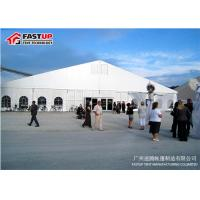 China Unique Light Fim Large Outdoor Tent , Heated Event Tents With Self - Cleaning Ability on sale