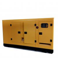 Buy cheap Cummins Engine Powered 50Hz / 60Hz 100KVA Silent Diesel Generator Standby from wholesalers
