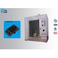 Glow Wire Tester Electrical Safety Test Equipment IEC60695-2-10 With Observation Window for sale