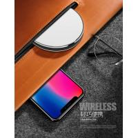 Quality Mirror 7.5W / 10W Charger Samsung / Iphone Charging Pad Colorful Aluminum for sale