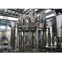 China 380V Stainless Steel Beverage Juice Filling Machine Packaging Machine CE / ISO 3.2KW for sale