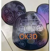 Buy cheap OK3D Lenticular plastic soft printing picture flexible 3d flip zoom morph motion from wholesalers