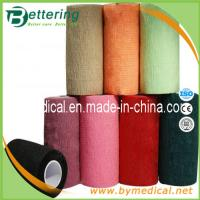 Quality 10cm Hand tearing Non Woven self adhering elastic bandage for sale