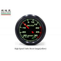 China Professional Auto Boost Gauge 6341 Single Function With Stepper Motor on sale
