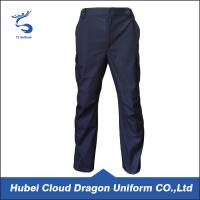 China Color custom  Ripstop Security Guard Pants For Men , 65% Polyester 35% Cotton on sale