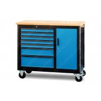China Metal Industrial Mobile Workstation 6 Drawer Superior 5 Inch Wheel 1100*510*829 mm for sale