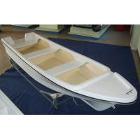 Wholesale FRP 4.2m Sport Fishing Boats , Single 14 Ft Fiberglass Boat For Entertainment from china suppliers