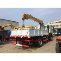 Wholesale 6000 / 8000kg Knuckle Truck Mounted Crane in White Red Boom Truck Crane SQ6ZK3Q from china suppliers