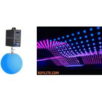 Wholesale SMD RGB Color Mixing Kinetic LED Balls DMX Motorized Lifting Color Ball from china suppliers