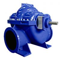 Wholesale Big Flow Double Suction Volute Pump , Horizontal Split Case Pump Electric / Diesel Motor from china suppliers