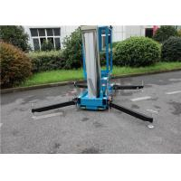 Quality Hydraulic Aerial One Man Lift 136 kg Rated Load With 8 Meter Platform Height for sale