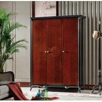 Wholesale Luxury furniture of Wardrobe closet in Ebony glossy painting for 3 or 4 doors clothespress from china suppliers