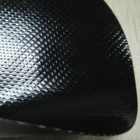 Wholesale 0.5mm Glossy Black Anti-Scratch PVC Coated Fabric for Bags from china suppliers