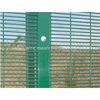 Wholesale Green High Security Fencing Galvanized Wire Material For Industry Zone from china suppliers