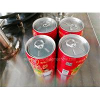 Buy cheap Pop Top Beverage Can Filling Machine / Can Seamer Line CE And ISO Passed from wholesalers