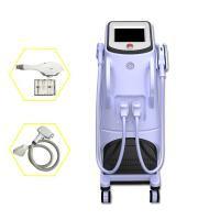 Quality Pain Free Shr + Ipl + Rf Semiconductor Laser Hair Removing Machine White Color for sale