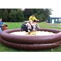 Wholesale Customized Mechanical Bull Riding , Mechanical Rodeo Bull For Adults from china suppliers
