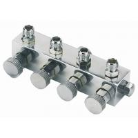 Wholesale High Durability Airbrush Spare Parts , 4 Way Airbrush Manifold Replacement A9-4 from china suppliers