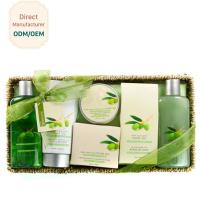 OEM Relaxing Body Care Bath Gift Set , Luxury Bath Products Gift Sets for sale