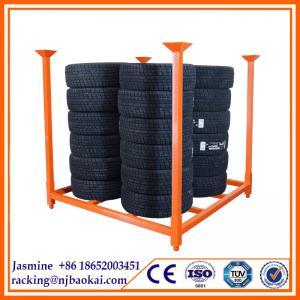 China warehouse metal Stacking pallet Rack on sale